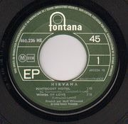 7inch Vinyl Single - Nirvana - Pentecost Hotel - Original French EP
