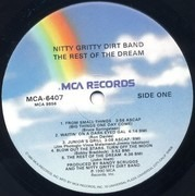 LP - Nitty Gritty Dirt Band - The Rest Of The Dream