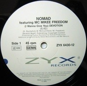 12'' - Nomad - (I Wanna Give You) Devotion