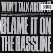 7'' - Norman Cook - Won't Talk About It
