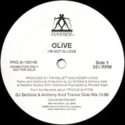 12inch Vinyl Single - Olive - I'm Not In Love - Promo