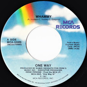 7inch Vinyl Single - One Way - Whammy