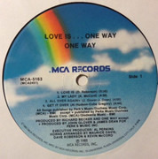 LP - One Way - Love Is... One Way
