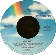 7'' - One Way - Push / All Over Again