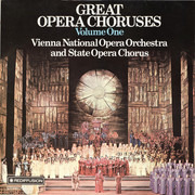 LP - Wagner / Verdi - Great Opera Choruses Volume One