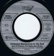 7inch Vinyl Single - Orchestral Manoeuvres In The Dark - Maid Of Orleans (The Waltz Joan Of Arc)