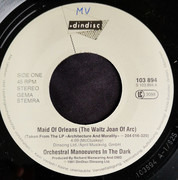 7inch Vinyl Single - Orchestral Manoeuvres In The Dark - Maid Of Orleans
