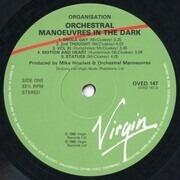 LP - Orchestral Manoeuvres In The Dark - Organisation