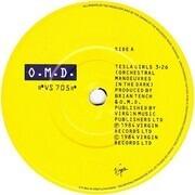 7inch Vinyl Single - Orchestral Manoeuvres In The Dark - Tesla Girls - Matt Paper Picture Sleeve