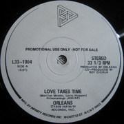 LP - Orleans - Love Takes Time