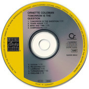 CD - Ornette Coleman - Tomorrow Is The Question!