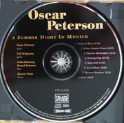 CD - Oscar Peterson - A Summer Night In Munich - signed