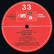 LP - Oscar Peterson - Girl Talk