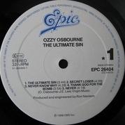 LP - Ozzy Osbourne - The Ultimate Sin