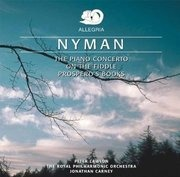 CD - Michael Nyman - The Piano Concerto / On The Fiddle / Prospero's Books