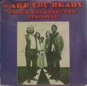 7'' - Pacific Gas & Electric - Are You Ready / Staggolee