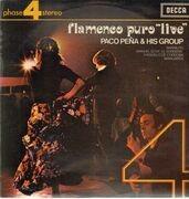 LP - Paco Peña & His Group - Flamenco Puro 'Live'