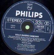 LP - Paco De Lucia - Solo Quiero Caminar