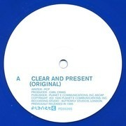 12inch Vinyl Single - Paperclip People - Clear And Present / Tweakityourself - Blue Transparent