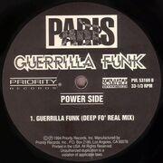 12'' - Paris - Guerrilla Funk