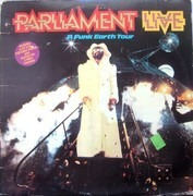 Double LP - Parliament - Live - P.Funk Earth Tour