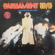 Double LP - Parliament - Live - P.Funk Earth Tour - Terre Haute Pressing