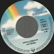 7inch Vinyl Single - Pat Boone - Speedy Gonzales / Memphis Tennessee