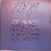 Double LP - Pat Metheny - 80/81 - 180g