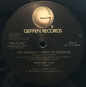 12inch Vinyl Single - Pat Metheny / Ornette Coleman - 'Kathelin Gray'/'Mob Job'