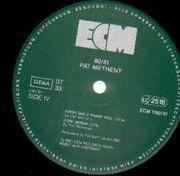 Double LP - Pat Metheny - 80/81 - FOC