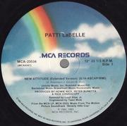 12'' - Patti LaBelle / Harold Faltermeyer - New Attitude / Axel F - generic cover version