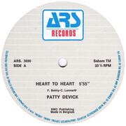 12inch Vinyl Single - Patty Devick - Heart To Heart