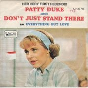 7inch Vinyl Single - Patty Duke - Don't Just Stand There - Original US. Picture Sleeve