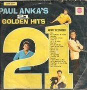 LP - Paul Anka - Paul Anka's 21 Golden Hits - Mono