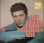 LP - Paul Anka - Greatest Hits