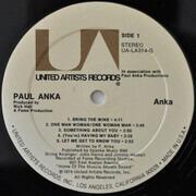 LP - Paul Anka - Anka - Gatefold