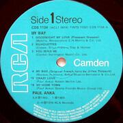 LP - Paul Anka - My Way