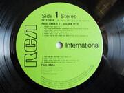 LP - Paul Anka - Paul Anka's 21 Golden Hits