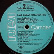 LP - Paul Anka - Paul Anka's Greatest Hits