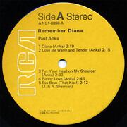 LP - Paul Anka - Remember Diana