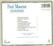 CD - Paul Mauriat - Remember