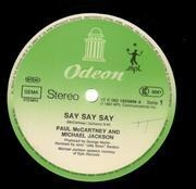 12'' - Paul McCartney & Michael Jackson - Say Say Say