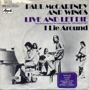 7'' - Paul McCartney And Wings - Live And Let Die / I Lie Around - PICTURE SLEEVE
