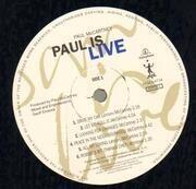 Double LP - Paul McCartney - Paul Is Live