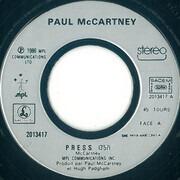 7inch Vinyl Single - Paul McCartney - Press