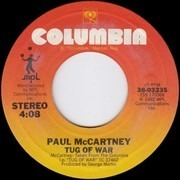 7inch Vinyl Single - Paul McCartney - Tug Of War