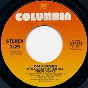 7inch Vinyl Single - Paul Simon - Still Crazy After All These Years / I Do It For Your Love
