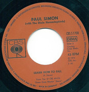 7inch Vinyl Single - Paul Simon With The Dixie Hummingbirds - Loves Me Like A Rock