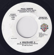 7inch Vinyl Single - Paul Simon - Graceland