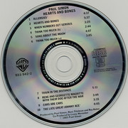 CD - Paul Simon - Hearts And Bones